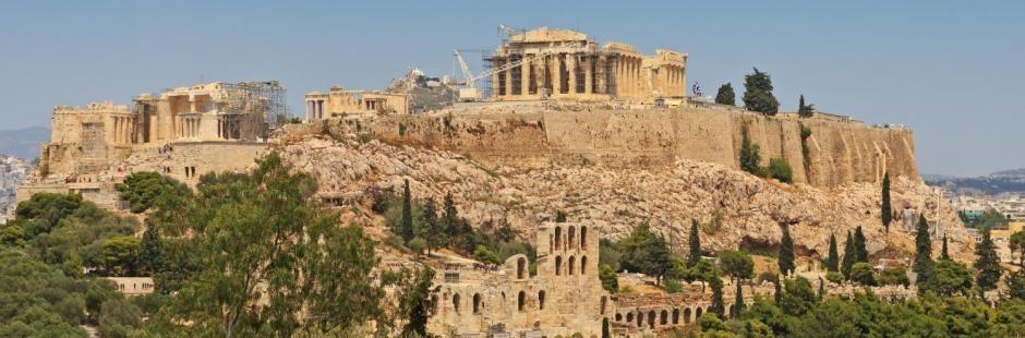 Афинский Акрополь - подобная история и описание с фотографиями